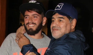 Hijo de Diego Maradona revela que no es hincha de Boca como su padre