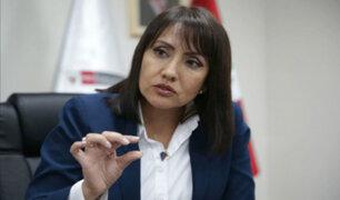 """Presidenta de ATU: fue un """"error"""" que Congreso apruebe ley para formalizar taxi colectivo"""
