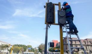 Instalan semáforos para ciclistas en Cercado de Lima y el Rímac