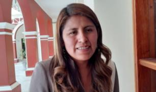 Congresista Yessica Apaza dio positivo por COVID-19