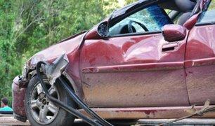 Accidentes vehiculares continúan registrándose en el país a pesar del estado de emergencia