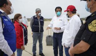 Covid-19: Gobierno envió 20 toneladas de material sanitario a Piura
