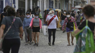 Covid-19 en Perú: meseta de contagios culminaría el 1 de junio