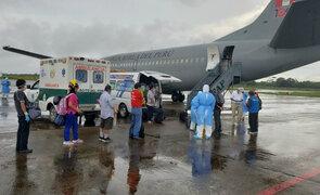 Coronavirus: EsSalud trasladó a 11 pacientes desde Iquitos a Villa Panamericana