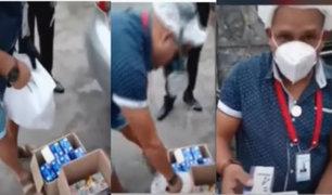 San Borja: Cae hombre con 18 pruebas rápidas de coronavirus que iba a vender