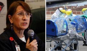 Pilar Mazzetti sobre fallecidos por covid-19: sinceramiento de casos será de forma progresiva