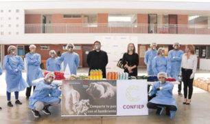 Confiep entrega 10 mil kits de alimentos a 'Hogar de las Bienaventuranzas'