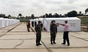 Lambayeque: hospital de campaña Covid-19 atenderá desde el lunes 18 de mayo