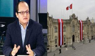 Víctor Quijada analiza lo que se viene en la política peruana en plena pandemia