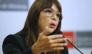 Liliana La Rosa cuestionó al Colegio Médico y pidió que no desestabilicen al Ministerio de Salud