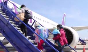 Más de 25 mil personas regresaron a sus regiones y países en vuelos humanitarios