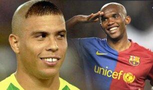 """Samuel Eto'o: """"El mejor delantero de todos los tiempos fue Ronaldo"""""""
