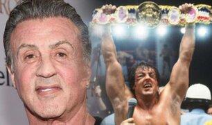 """Sylvester Stallone festejó los 40 años del estreno de """"Rocky II"""""""