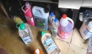 Cercado: clausuran local donde vendían alcohol y gel sin autorización