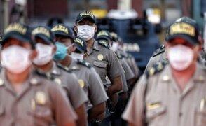 Chimbote: más de 290 policías vencieron al Covid-19 en las últimas semanas