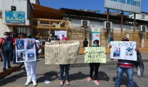 [VIDEO] Trabajadores del hospital de Ate Vitarte denuncian despido arbitrario