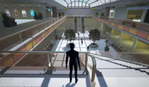 VIDEO: Alistan primer centro comercial virtual en el país y funcionaría como un videojuego