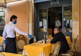 Italia: permiten reapertura de bares y otros comercios durante segunda fase de desconfinamiento