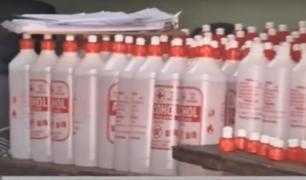 La Victoria: detienen a sujetos por adulterar productos farmacéuticos en plena pandemia