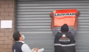 Surco: clausuran local de supermercado tras deflagración que dejó 4 heridos