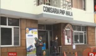 Mala: Tras denuncia de cierre de comisaría, PNP envió 40 nuevos agentes para incorporar establecimiento.
