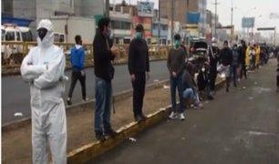 [VIDEO] La Victoria: comerciantes del Mercado de Frutas se someten a pruebas COVID-19