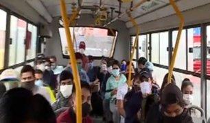 [VIDEO] El Agustino: personas no respetan el distanciamiento social en Puente Nuevo