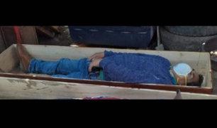Huancavelica: alcalde de Tantará fingió estar muerto para no ser detenido
