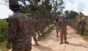 Pucallpa: 113 militares y 10 civiles infectados en base aérea