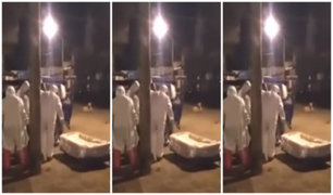[VIDEO] Cañete: mototaxista sospechoso de COVID-19 muere en puerta de su casa