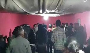Trujillo: creyentes evangélicos se reúnen y desafían cuarentena