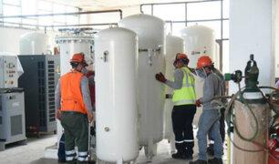 Instalan segunda planta de oxígeno que será destinada al Hospital Regional de Loreto