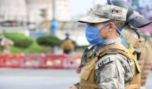 Casi 1000 miembros de las Fuerzas Armadas se han contagiado de COVID-19