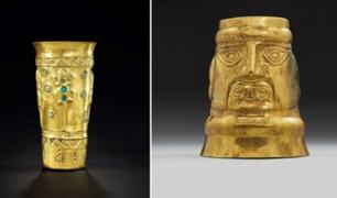 Ministerio de Cultura pide suspender subasta de piezas arqueológicas en Francia