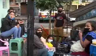 Surquillo: desalojan a 8 familias venezolanas de viviendas que alquilaban