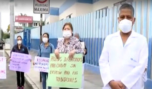 Por colapso: médicos de Sabogal piden cerrar área de emergencia
