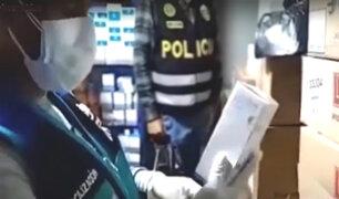 Cercado: Policía de investigación interviene almacén con medicinas en mal estado