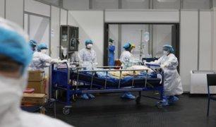 """[VIDEO] Equipo del hospital """"Blanco"""" de Iquitos retorna a Lima tras más de 20 días"""