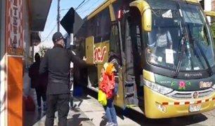 Tacneños que quedaron varados en Lima retornaron a su región