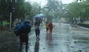 Paso de ciclón Amphan por India y Bangladesh deja 80 fallecidos