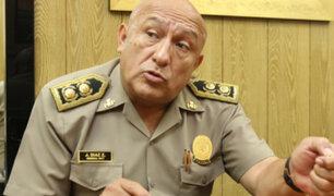 Lambayeque: separan a general de la Policía por presuntas compras irregulares