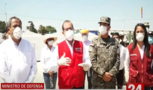 Gobierno evalúa cuarentena focalizada luego del 24 de mayo, señaló ministro de Defensa