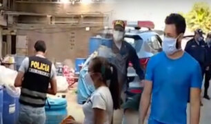 Chiclayo: intervienen a sujetos adulterando alcohol y jabón líquido en plena cuarentena