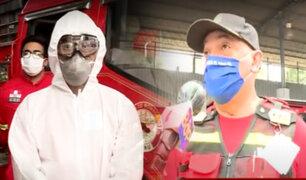 Para evitar contagios: estos son los nuevos protocolos de bioprotección para los Bomberos