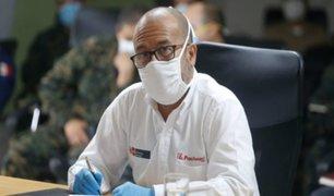 Víctor Zamora: En un mes tendremos la primera prueba molecular hecha en Perú