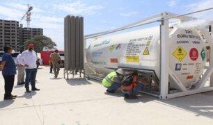 Piura: entró en funcionamiento isotanque para proporcionar oxígeno a casi 50 pacientes