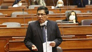 Comisión de Constitución aprueba presentación de Zeballos para voto de confianza este jueves