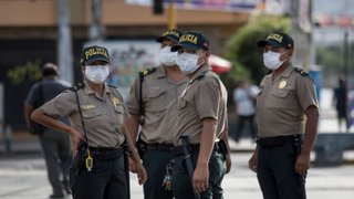 Peritaje indica que no sirven 35.000 mascarillas compradas por PNP