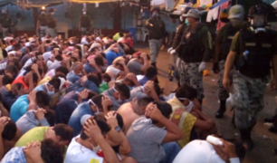 Penal de Picsi: Hallan decenas de armas blancas, televisores y galones de chicha en requisa