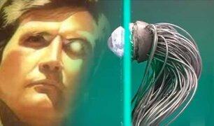 Crean un ojo robótico que se conecta por cable al nervio óptico